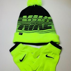 Nike Beanie and Gloves
